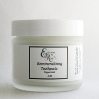 Natural Remineralizing Toothpaste, Flouride Free Toothpaste, includes Calcium Carbonate