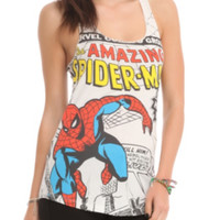 Marvel The Amazing Spider-Man Comic Cover Girls Tank Top