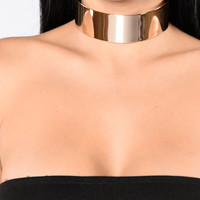 House Of Shine Choker - Gold