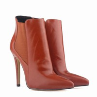 Pointed Toe Women Ankle Boots
