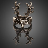 Retro  Sika Deer Finger Ring = 1946551428