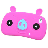 Happy Pigs Silicone Case For Iphone.. on Luulla