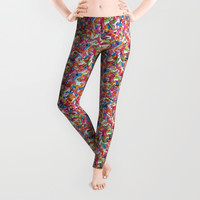 Sprinkles Leggings by allisone