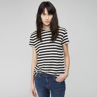 Striped Tissue Tee by Proenza Schouler