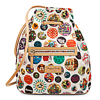 Mickey Mouse Buttons Backpack by Dooney & Bourke