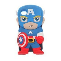 Marvel Chara-Covers Captain America iPhone 4/4S Case - 10012961