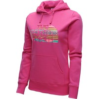 The North Face Half Dome Hoodie Women's Petticoat Pink/Texture Stripe, S