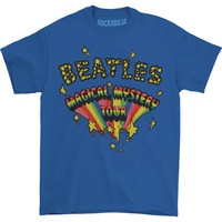 Beatles Men's  Magical Mystery Tour Logo T-shirt Blue