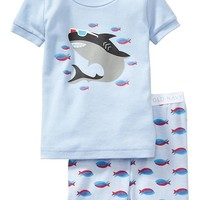 Old Navy Shark Graphic PJ Sets For Baby
