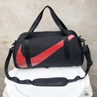 NIKE Fashion New Big Hook Print Women Men Handbag Shoulder Bag Luggage