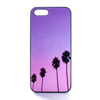 Palm Trees Sunset Case