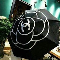 KUYOU The shop sells the latest camellia umbrella