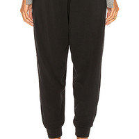 Bobi Jersey Jogger in Black