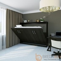 Horizontal Metropolitan Murphy Bed | Horizontal Wall Bed | BredaBeds