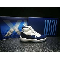 air jordan 11 retro george town basketball shoe 36 47