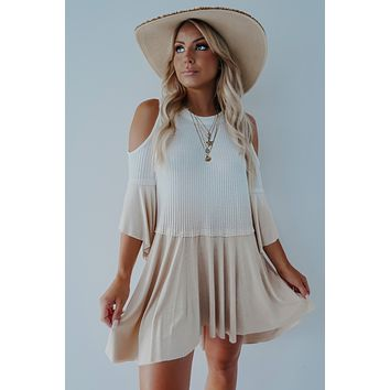 REORDER: Your Promise Dress: Ivory/Sand