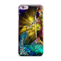 """Mandie Manzano """"Fairy Tale off to Neverland"""" iPhone Case"""
