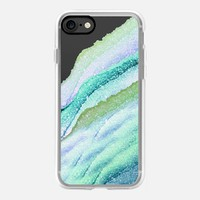 FLAWLESS WAVES LIMETTO by Monika Strigel iPhone 7 Hülle by Monika Strigel | Casetify