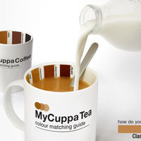 MyCuppa Mugs : Get your tea and coffee just the right colour