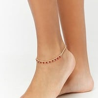 Beaded Anklet Set