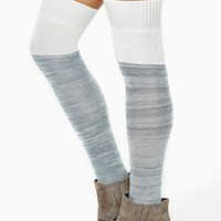 Sandstone Knee High Tights