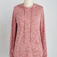 Snuggled in Softness Top in Red | Mod Retro Vintage Short Sleeve Shirts | ModCloth.com