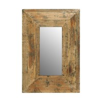 Rustic Wall Mirror Entryway Bedroom Decorative Art Country Chic Decor Cabin NEW
