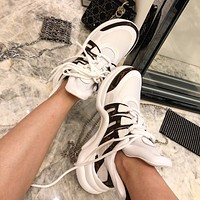 lv louis vuitton womans mens 2020 new fashion casual shoes sneaker sport running shoes 45