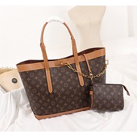 LV Louis Vuitton MONOGRAM CANVAS HANDBAG TOTE BAG