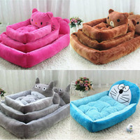Pet dog bed house S-XL