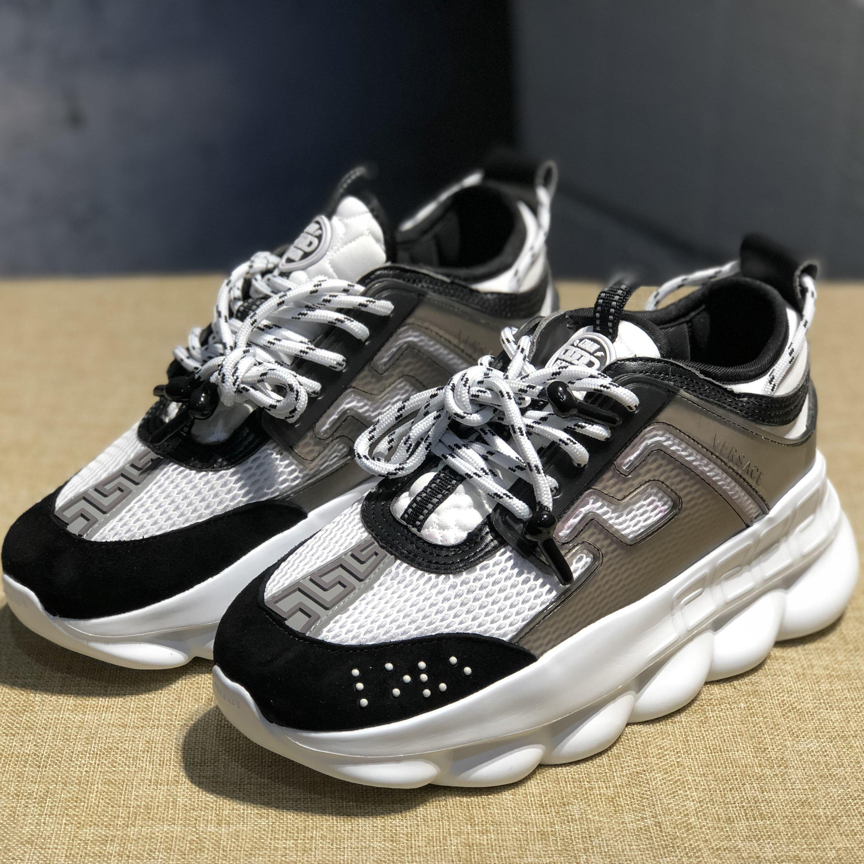 Image of Trendsetter Versace Women Men Fashion  Casual Sneakers Sport Shoes