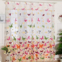 Butterfly Tulle Curtains
