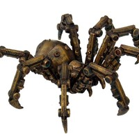 PTC StealStreet 9799 Steampunk Inspired Mechanical Spider Resin Statue Figurine, 6""