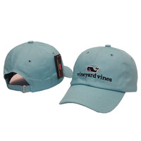 Whale Embroidered Blue Strapback Golf Casquette Southern Tide Fish Dad Baseball Cap Men Summer Hat Baseball Women Dolphin Cap