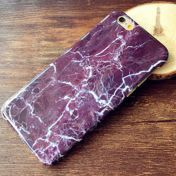Marble iPhone 7 se 5s 6 6s Plus Case Cover +Gift Box