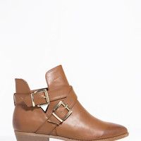 Charm-09 Double Trouble Ankle Bootie