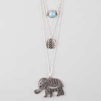 FULL TILT Disc/Stone/Elephant Necklace | Necklaces