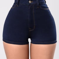 Sexy Clean Shorts - Indigo