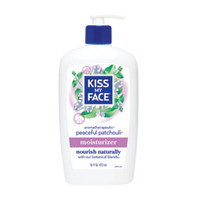 All Natural Peaceful Patchouli Moisturizer from Kiss My Face