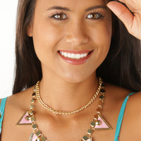 Just Let Go Necklace: Multi - One