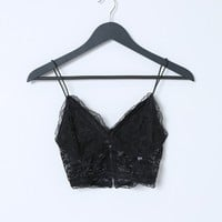 Don't Mind Bralette - Black