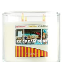 3-Wick Candle Ice Cream Shop