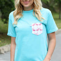 High Tide Pocket Tee: The Brittney