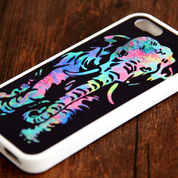 Abatract Elephant iPhone and Samsung Galaxy Rubber Case