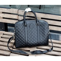Gucci Hot Sale Personalized Casual Business Briefcase Fashion Men's and Women's Shoulder Messenger Bags 0730