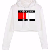 Fashion Killa Cropped Hoodie