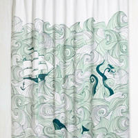 Swell Acquainted Shower Curtain