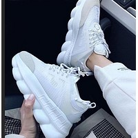 Versace Fashion New Mesh Women Men High Quality Sports Leisure  Shoes
