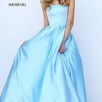 Sweetheart Ball Gown Style Sherri Hill Prom Dress with Pockets