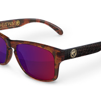 Cruiser Sunglasses: Crocodile // Tortoise Hybrid Customs